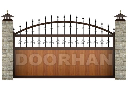 variant otkatnyih vorot DoorHan Откатные ворота