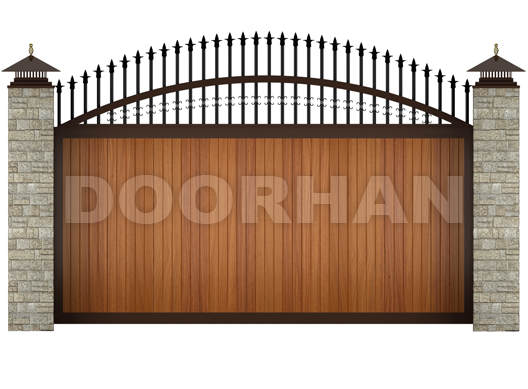 vorota sdvizhnyie dorhan novosibirsk Откатные ворота