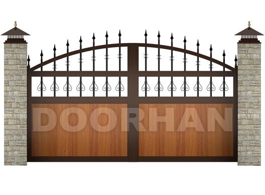 ворота распашные дорхан новосибирск