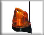 Лампа безопасности сигнальная. Применяется для предупреждения при открытии или закрытии автоматики Дорхан